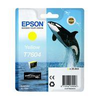 Für weitere Info hier klicken. Artikel: Epson T7604 yellow
