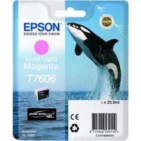 Für weitere Info hier klicken. Artikel: Epson T7606 vivid light magenta