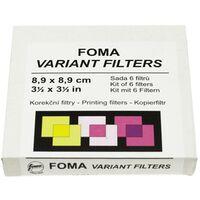 Für weitere Info hier klicken. Artikel: Foma Multikontrastfiltersatz 9X9cm Gradationsstufen 0-5