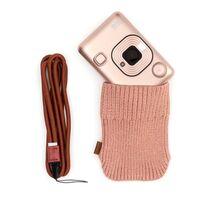 Für weitere Info hier klicken. Artikel: Fujifilm Instax LiPlay Set Sofortbildkamera+Kabel+NeckStrap+Socke blush gold