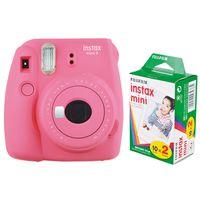 Für weitere Info hier klicken. Artikel: Fujifilm Sofortbildkamera Instax mini 9 + Instax Mini Film DP 2x10 Aufnahmen flamingopink