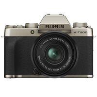 Für weitere Info hier klicken. Artikel: Fujifilm X-T200 + XC 15-45 OIS PZ champagner