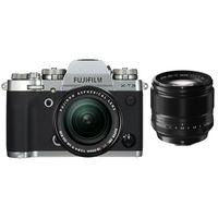 Für weitere Info hier klicken. Artikel: Fujifilm X-T3 + XF18-55mm f/2,8-4,0 R LM OIS + XF 56mm f/1,2 R silber Fujifilm X