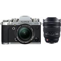 Für weitere Info hier klicken. Artikel: Fujifilm X-T3 + XF 18-55mm f/2,8-4,0 R LM OIS + XF 8-16mm f/2,8 R LM WR silber Fujifilm X