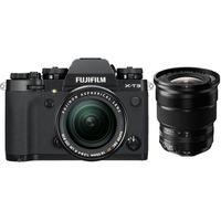 Für weitere Info hier klicken. Artikel: Fujifilm X-T3 + XF 18-55mm f/2,8-4,0 R LM OIS + XF 10-24mm f/4,0 R OIS schwarz Fujifilm X