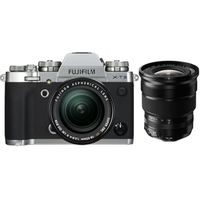 Für weitere Info hier klicken. Artikel: Fujifilm X-T3 + XF 18-55mm f/2,8-4,0 R LM OIS + XF 10-24mm f/4,0 R OIS silber Fujifilm X