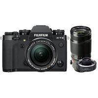 Für weitere Info hier klicken. Artikel: Fujifilm X-T3 + XF 18-55mm f/2,8-4 R LM OIS + XF 50-140mm f/2,8 R LM OIS WR + TC XF 1.4X schwarz Fujifilm X
