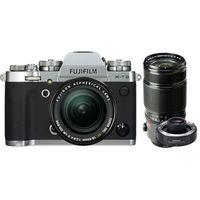Für weitere Info hier klicken. Artikel: Fujifilm X-T3 + XF 18-55mm f/2,8-4 R LM OIS + XF 50-140mm f/2,8 R LM OIS WR + TC XF 1.4X silber Fujifilm X