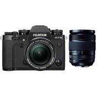 Für weitere Info hier klicken. Artikel: Fujifilm X-T3 + XF 18-55mm f/2,8-4,0 R LM OIS + XF 18-135mm R OIS WR schwarz Fujifilm X