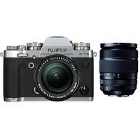 Für weitere Info hier klicken. Artikel: Fujifilm X-T3 + XF 18-55mm f/2,8-4,0 R LM OIS + XF 18-135mm R OIS WR silber Fujifilm X