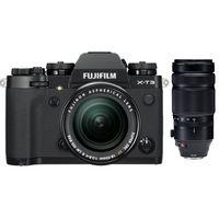 Für weitere Info hier klicken. Artikel: Fujifilm X-T3 + XF 18-55mm f/2,8-4,0 R LM OIS + XF 100-400mm RLM OIS WR schwarz Fujifilm X