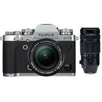 Für weitere Info hier klicken. Artikel: Fujifilm X-T3 + XF 18-55mm f/2,8-4,0 R LM OIS + XF 100-400mm RLM OIS WR silber Fujifilm X