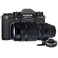 Für weitere Info hier klicken. Artikel: Fujifilm X-T3 + XF 18-55mm f/2,8-4,0 R LM OIS + XF 100-400mm RLM OIS WR + TC XF 1.4X WR schwarz Fujifilm X