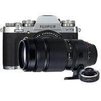 Für weitere Info hier klicken. Artikel: Fujifilm X-T3 + XF 18-55mm f/2,8-4,0 R LM OIS + XF 100-400mm RLM OIS WR + TC XF 1.4X WR silber Fujifilm X