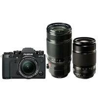 Für weitere Info hier klicken. Artikel: Fujifilm X-T3 + XF 18-55 f/2,8-4,0 R LM OIS + XF 55-200mm f/3,5-4,8 R LM OIS + XF 50-140mm f/2,8 R LM OIS WR schwarz