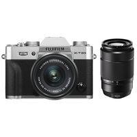 Für weitere Info hier klicken. Artikel: Fujifilm X-T30 + XC 15-45mm OIS PZ + XC 50-230mm OIS II silber Fujifilm X