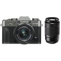 Für weitere Info hier klicken. Artikel: Fujifilm X-T30 + XC 15-45mm OIS PZ + XC 50-230mm OIS II Fujifilm X anthrazit