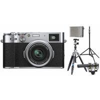 Für weitere Info hier klicken. Artikel: Fujifilm X100V Vlogger Kit für Fortgeschrittene silber