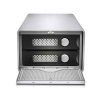 Für weitere Info hier klicken. Artikel: G-technology G-RAID Thunderbolt 3 Removable silb Festplattenlaufwerk mit zwei Speichern 8 GB