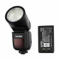 Für weitere Info hier klicken. Artikel: Godox Speedlite V1 + Zusatz Akku Canon