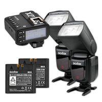 Für weitere Info hier klicken. Artikel: Godox Speedlite V860II Duo X2 Trigger Kit Nikon
