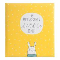 Für weitere Info hier klicken. Artikel: goldbuch Babyalbum little one 60 weiße Seiten gelb 300x310x40 mm