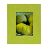 goldbuch Leinen Minialbum Bella Vista 13x18/12 grün