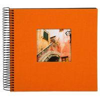 Für weitere Info hier klicken. Artikel: goldbuch Spiralalbum Bella Vista 20x20 40 schwarze Blätter orange