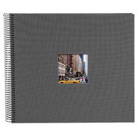 Für weitere Info hier klicken. Artikel: goldbuch Spiralalbum Bella Vista mit Fenster 34x30 40 schwarze Seiten grau