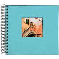 Für weitere Info hier klicken. Artikel: goldbuch Spiralalbum Bella Vista Trend 40 schwarze Blätter 35x30 aqua
