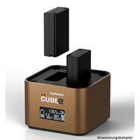 Für weitere Info hier klicken. Artikel: Hähnel proCUBE2 Doppelschacht-Ladegerät Olympus