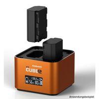 Hähnel proCUBE2 Doppelschacht-Ladegerät Sony