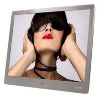 Für weitere Info hier klicken. Artikel: Hama Digitaler Bilderrahmen 97SLB Slim Steel silber