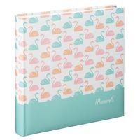Für weitere Info hier klicken. Artikel: Hama Jumbo-Album Swan, 30x30 cm, 80 weiße Seiten Pastell