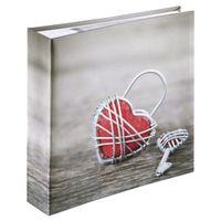Für weitere Info hier klicken. Artikel: Hama Memo-Album Rustico, für 200 Fotos im Format 10x15 cm, Metal Heart