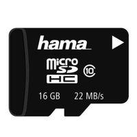 Für weitere Info hier klicken. Artikel: Hama microSDHC 16 GB Class 10 16 GB