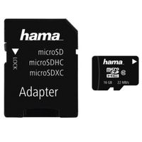 Für weitere Info hier klicken. Artikel: Hama microSDHC Class 10 22MB/s + Adapter / Mobile 16GB
