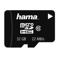 Für weitere Info hier klicken. Artikel: Hama microSDHC Class 10, ohne Adapter/Mobile 32 GB