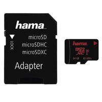 Für weitere Info hier klicken. Artikel: Hama microSDXC UHS Speed Class 3 UHS-I 80MB/s + Adapter/Foto 64GB
