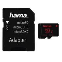 Für weitere Info hier klicken. Artikel: Hama microSDXC UHS Speed Class 3 UHS-I 80MB/s + Adapter/Foto 128GB