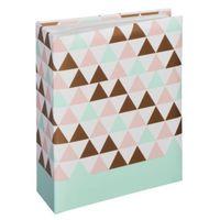 Für weitere Info hier klicken. Artikel: Hama Minimax-Album Designline, für 100 Fotos im Format 10x15 cm Triangle