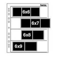 Hama Negativhüllen Pergamin 100 Blätter für 6x7