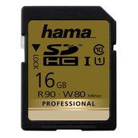 Hama SDHC-Card Professional Cl.10 16 GB