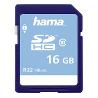 Für weitere Info hier klicken. Artikel: Hama SDHC, Class 10 16GB