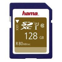 Hama SDXC Class 10 UHS-I 80MB/s 128 GB