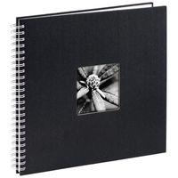 Für weitere Info hier klicken. Artikel: Hama Spiral-Album Fine Art, 36x32 cm, 50 weiße Seiten schwarz