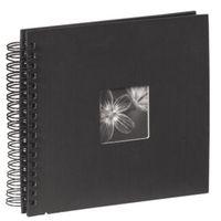 Hama Spiralalbum Fine Art Schwarz 28x24/50