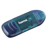 Für weitere Info hier klicken. Artikel: Hama USB-2.0-Kartenleser für SD-Karten blau