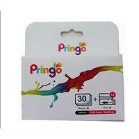 Für weitere Info hier klicken. Artikel: HiTi Pringo Papier/Farbband-Set für 30 Fotos 54x86mm, gold