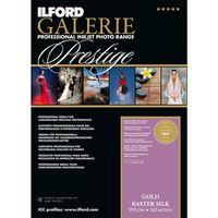 Für weitere Info hier klicken. Artikel: Ilford Druckerpapier GALERIE Prestige Gold Raster Silk 50 Blatt A3+
